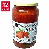 Travaglini Italian Whole Peeled Tomatoes 12-Pack