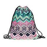 Geometry Backpacks 3D Printing Bags Drawstring Backpack For Sale