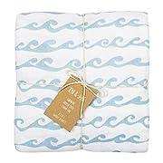 Jeni and Jane Montauk Baby Swaddle Blankets Pack Of 2,Montauk,One Size