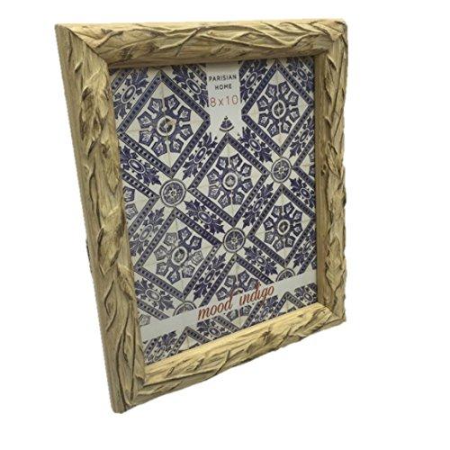 Design Resin Photo Frame (Sheffield Home 8 by 10 Vine Driftwood Design Resin Frame)