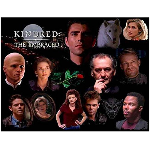 Stacy Haiduk with cast In Kindred: The Embraced promo 8 x 10 Inch Photo