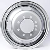 2-Pack Trailer Wheel Silver Rims 16 x 6 Dually Style (8 Lug On 6.5'' Center)