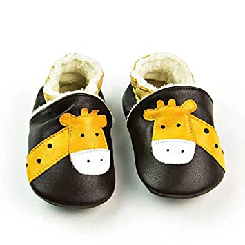 e0c781da1014f Amazon.com: Skuleer(TM) Winter Genuine Leather Baby Moccasins ...