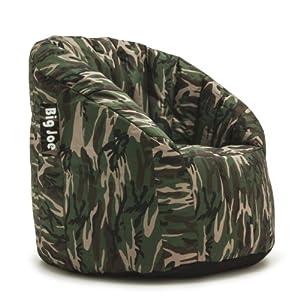 Amazon Com Big Joe Lumin Smartmax Fabric Chair Woodland