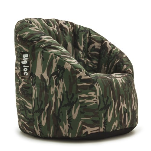 (Big Joe Lumin SmartMax Fabric Chair, Woodland Camo)
