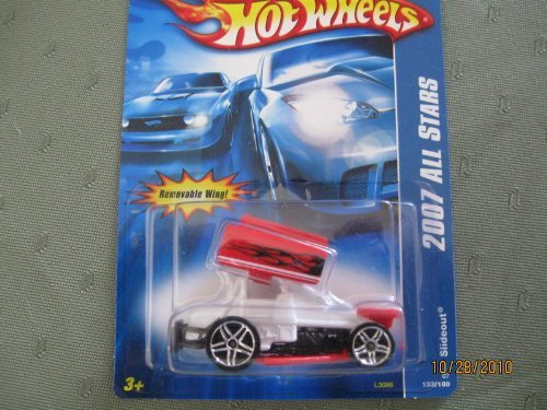 Hot Wheels Slideout 2007 All Stars Weiß with ROT Wing by Hot Wheels