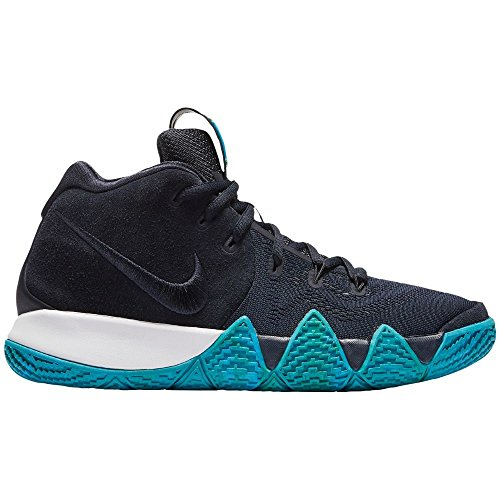 NIKE Kyrie 4 Big Kid's Basketball Shoes Dark Obsidian/Black aa2897-401 (6 M US) ()