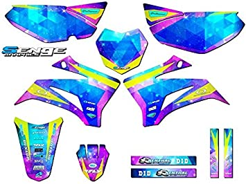 Space Kadet Base Graphics Kit Senge Graphics 2008-2019 Yamaha TTR 125