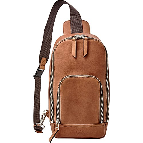 Fossil Miller Leather Cognac Slingpack
