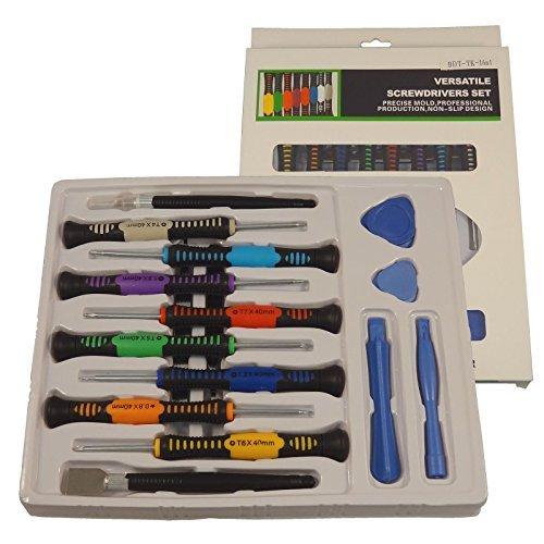 16-n-1 Multi-bit Repair Tools Kit Set Torx Screwdrivers
