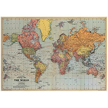 geschenkpapier weltkarte Travel Range – Weltkarte Geschenkpapier: Amazon.de: Küche & Haushalt geschenkpapier weltkarte