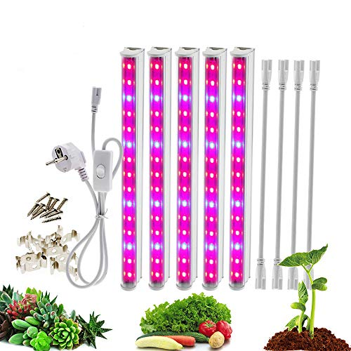 - LED Grow light 5730 T5 Tube Full Spectrum LED Indoor Flower Plant Phyto Growth lamps For Greenhouse Hydroponic Plant Growing