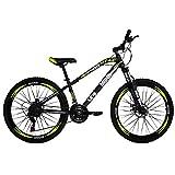 """Bicicleta de Montaña Modelo""""INXSS"""" con Componentes Shimano y Suspensión Delantera, Rodada 26 Shimano 21 Velocidades"""