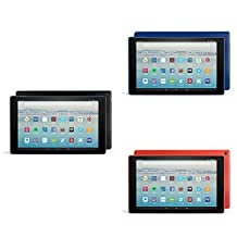 Fire HD 10 Variety Pack, 32GB - Includes Special Offers (Black/Red/Blue)