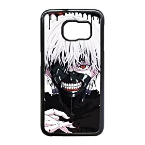 Generic hard plastic Tokyo Ghoul Anime Cell Phone Case for Samsung Galaxy S6 Edge Black B0055