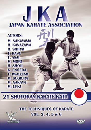 JKA - Japan Karate Association: 21 Shotokan Karate Kata