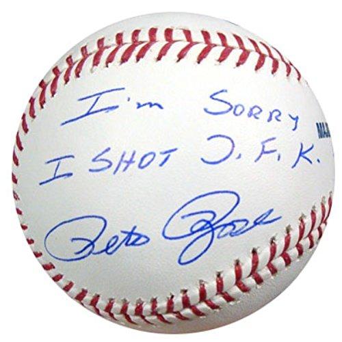 Autographed Pete Rose - 9