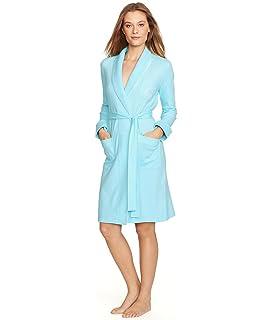 e7b3694598a25 Lauren by Ralph Lauren Women s Essentials Quilted Collar and Cuff Robe