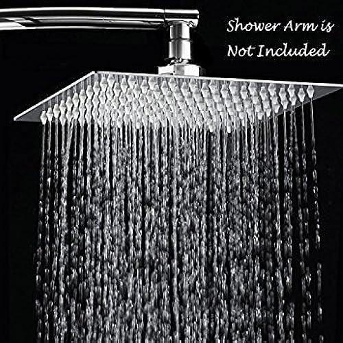 Attrayant Ansvip 12 Inch Stainless Steel High Pressure Rain Shower Head, Chrome Finish