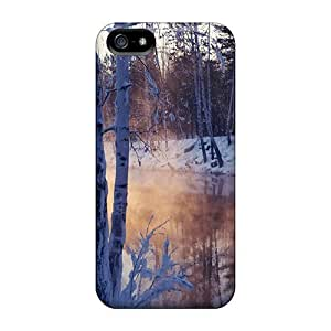 Hot ZVeNVYR1378XtMnY Snowy Winter Lscape Tpu Case Cover Compatible With Iphone 5/5s