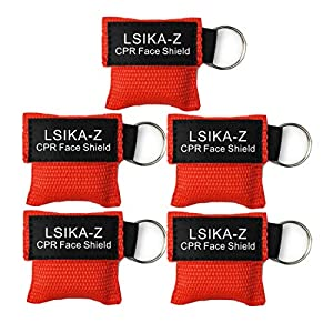 LSIKA-Z Paquete de 10pcs CPR Máscara 9