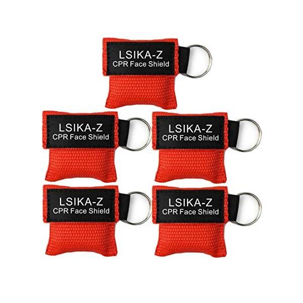 LSIKA-Z Paquete de 10pcs CPR Máscara 1