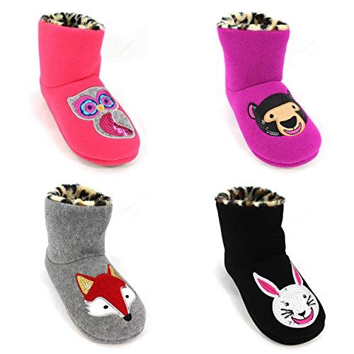 Kensie Womens Boot Slippers