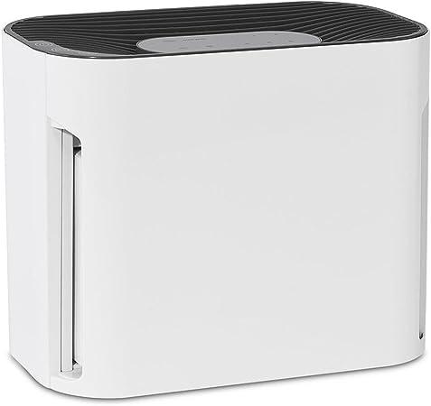 Enbow purificador de aire pequeño y ligero, tamaño 22,8 x 14,4 x 19,5 cm, 6,3 kg, filtro de aire 3 en 1, 3 velocidades 25 – 40 – 50 db, autotemporizador: Amazon.es: Hogar