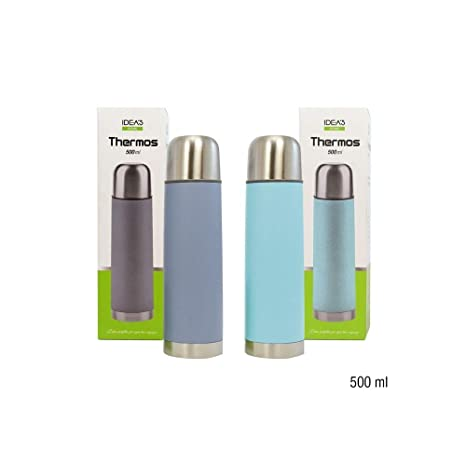 girm® - hx916384 colorido Thermos de acero inoxidable 500 ml ...