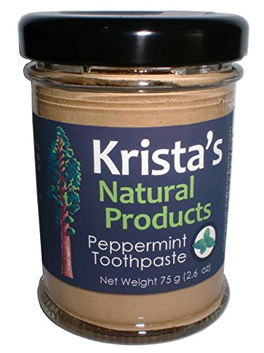 Peppermint Toothpaste Kristas Natural Products