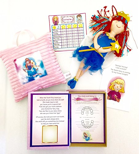 Tooth Fairy's Tale- Tooth Fairy Set for Girls! (Tooth Doll Fairy)