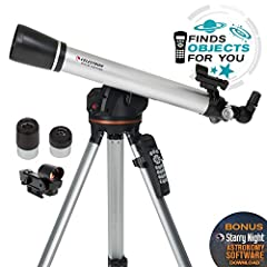 If you're in search of a computerized telescope with the same star locating technology found on our more advanced telescopes at a price that fits your family's budget, you'll love the Celestron 60LCM with all glass optics. This computerized ...