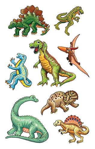 Avery Zweckform 53145 Kinder Sticker, Dinos, 24 Aufkleber