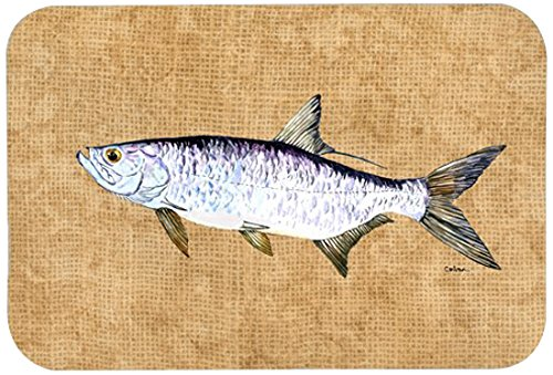 "UPC 615872787869, Caroline's Treasures 8804JCMT ""Tarpon"" Kitchen or Bath Mat, 24"" by 36"", Multicolor"