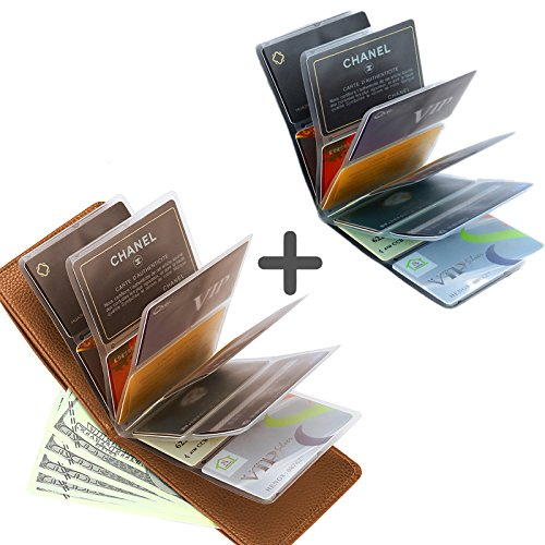 Unisex 24 Cards Wonder Wallet Amazing Slim RFID Wallets - 1