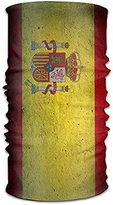 Rghkjlp Hombres y Mujeres Bandera española Piedra Headwear ...