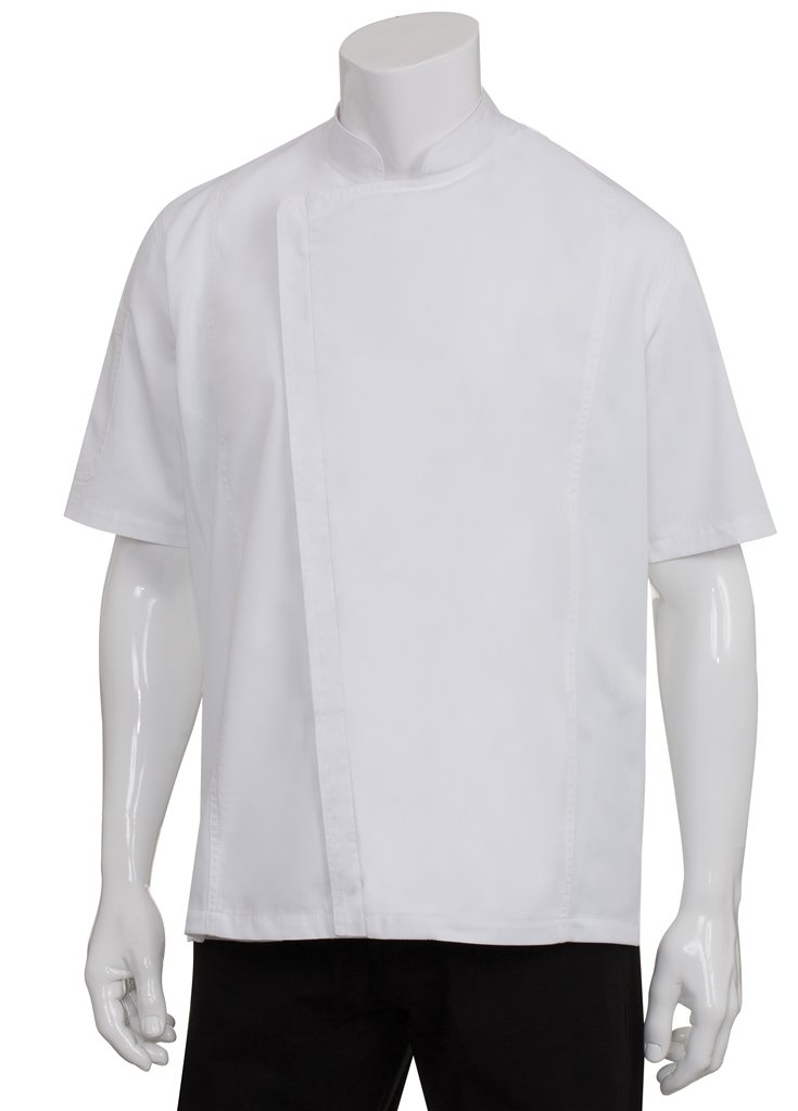 Chef Works Mens Springfield Chef Coat, White, Medium by Chef Works