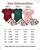 Infant Baby Girl Clothes Romper Shorts Set Floral