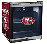 Glaros Officially Licensed NFL Beverage Center / Refrigerator - San Francisco 49ers
