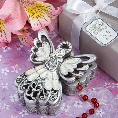 Angel Design Trinket Box Wedding Favors, 72 by Fashioncraft