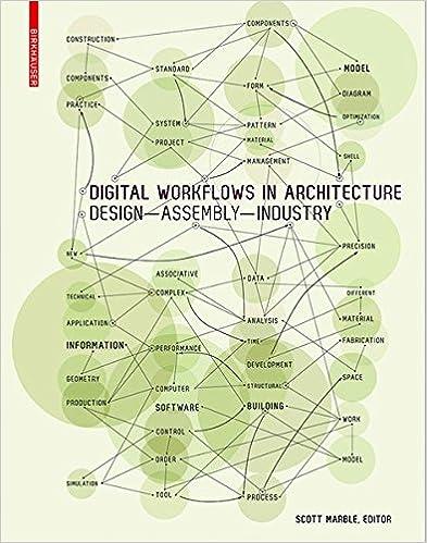 Digital Workflows In Architecture Scott Marble