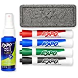 Expo Original Dry Erase Set, Chisel Tip, 6-Piece, Assorted Colors