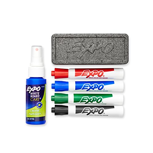 EXPO Original Dry Erase Set, Chisel Tip, Assorted Colors, 6-Piece ()