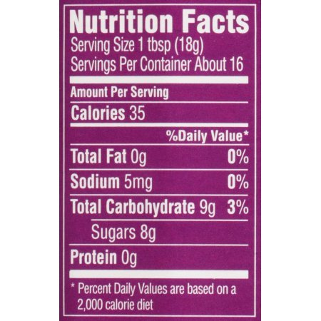 PACK OF 18 - Polaner All Fruit Spreadable Fruit Concord Grape, 10.0 OZ by Polaner All Fruit (Image #2)