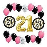 Happy 21st Birthday Balloon Decoration Kit