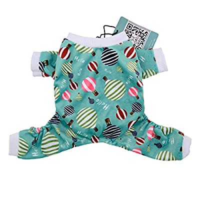 CuteBone Dog Pajamas Puppy Apparel Doggy Jumpsuit Pet Clothes Pajamas Shirt from CuteBone