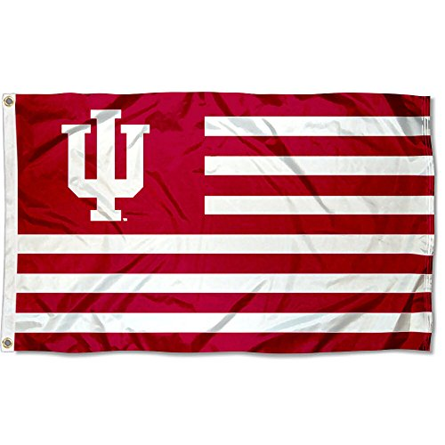- Indiana Hoosiers Stars and Stripes Nation Flag