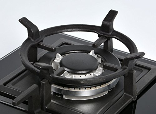 Wok Stand - K&H Gas Cooktop Black Cast Iron Wok Support Ring