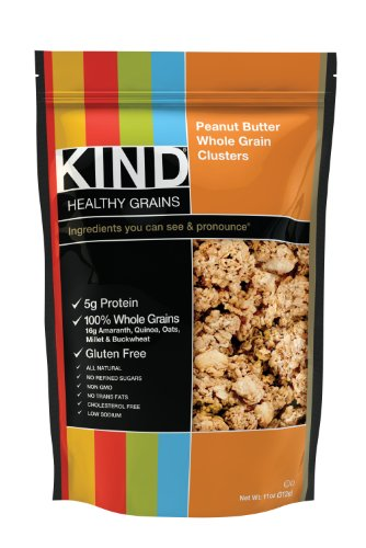 KIND Healthy Grains Clusters, Peanut Butter Whole Grain,
