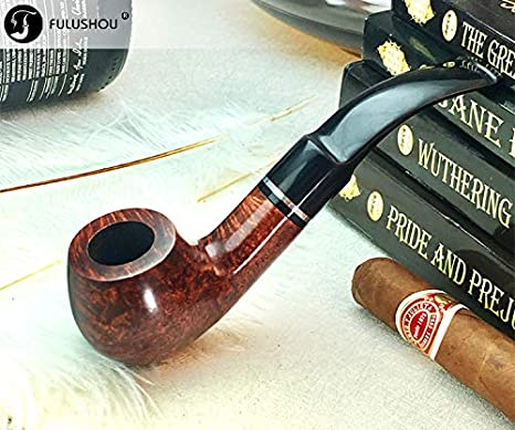 KOKOKA Pipe /à tabac en bois fabriqu/ée /à la main pipe /à tabac en bois de bruy/ère de premi/ère qualit/é